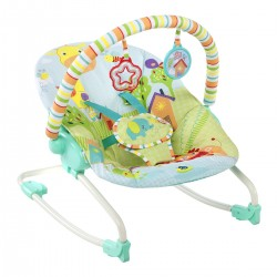 Hamaca Bright Starts Rocker Snuggle Jungle, multicolor