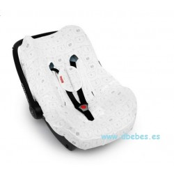 Funda Grupo 0 Cancun Zoo Gris Babyclic