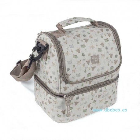 Bolsa Térmica Happy Animals de Walking Mum