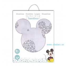 Muselina Mickey Original Disney de Interbaby
