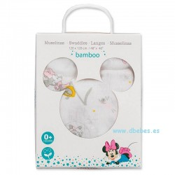 Muselina Minnie Disney de Interbaby