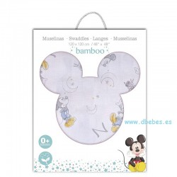 Muselina Mickey Couting Sheep Disney de Interbaby